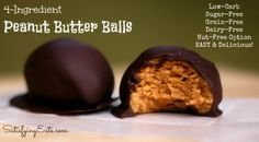 Peanut Butter Balls with Buckeyes, Peanut Butter Cups & Easter Egg Variations! | www.satisfyingeats.com