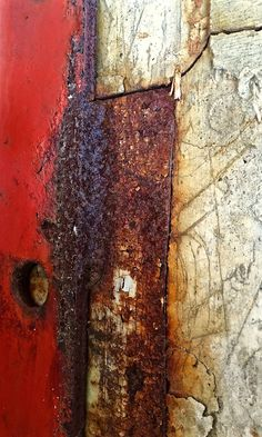 Rust | さび | Rouille | ржавчина | Ruggine | Herrumbre | Chip | Decay | Metal | Corrosion | Tarnish | Texture | Colors | Contrast | Patina | Decay | by Ann Kate Davidson