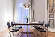 Cute Large imported italian table for dining and working meetings Apartment for Creative Nomads in