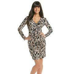 Product: Calvin Klein Printed Matte Jersey Dress. Original Price $135. Sale $50