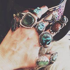 ☆ ☼ ☾ Boho Jewelry. #rings ☽☼ ☆