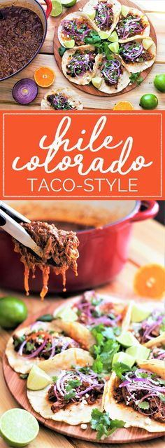 You might crave Chile Colorado for its tender chunks of slow-braised beef, but it's the rich, smoky red sauce that steals the show! Whether you dish it up taco-style or heaped in a bowl, this is the comfort-food dinner that'll get us through winter. #chilecolorado #redchiles #chili #comfortfood #slowcooker   mountaincravings.com