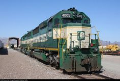 RailPictures.Net Photo: AZCR 4003 Arizona & California Railroad EMD SD40-2 at Parker, Arizona by Matthew Griffin
