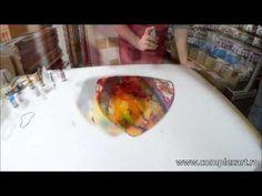 Tutorial tehnici ptr decorarea sticlei - EP. 1 - 31mai 2014 - YouTube