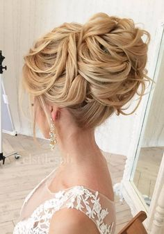 Half-updo, Braids, Chongos Updo Wedding Hairstyles | Deer Pearl Flowers