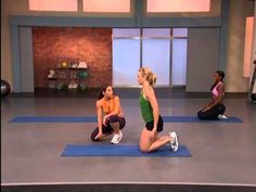 Jillian Michaels Banish Fat Boost Metabolism - some great unique moves in this video. You will sweat! No weights