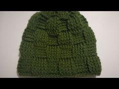 How to Knit Crochet Beanie (Sugar Cubes Stitch Pattern) Crochet Beanie, Crochet Baby, Knitted Hats, Knit Crochet, Crochet Gratis, Free Crochet, Makeup Wipes, Best Beauty Tips, Crochet Videos
