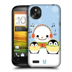 Make way for one of the coolest stars of the Holiday season as he brings sweetness to your phone with this collection of Head Case Designs Snowmen for HTC Desire X
