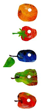 awww, childhood! 'The Very Hungry Caterpillar'
