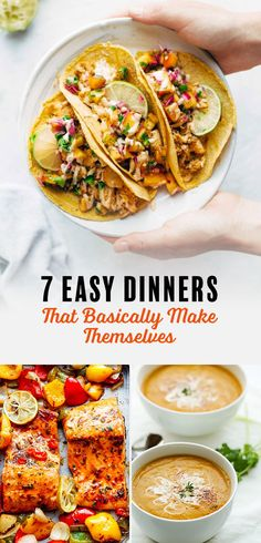 7 Easy Dinners That Basically Make Themselves