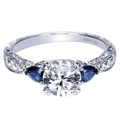 Did you know a #sapphire in your #wedding #ring symbolizes marital happiness?
