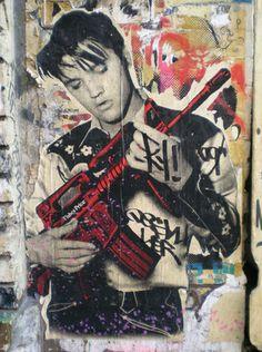 Street Art, Soho, NY, Poster It's so sad. I'm such a street art nerd, I knew what artist this was before I read the description. 3d Street Art, Amazing Street Art, Street Art Graffiti, Amazing Art, Soho, Best Graffiti, Graffiti Artwork, Sidewalk Art, Arte Popular