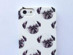 iphone 5 case pug phone case - sausage dog - dalmatian - dachshund - 3 / 3GS / 4S / 4 samsung galaxy s3