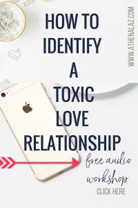 How to identify a toxic love relationship & stop self-sabotaging by Athena Laz