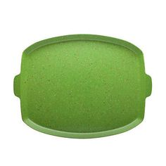 Sprinkles 15-inch Serving Tray Palm Green Melamine BPA Free