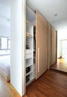 64 Ideas for bedroom wardrobe design sliding doors dressing rooms House Design, House, Master Bedroom Design, Home, Bedroom Wardrobe, Home Bedroom, Built In Wardrobe, Small Closets, Small Bedroom