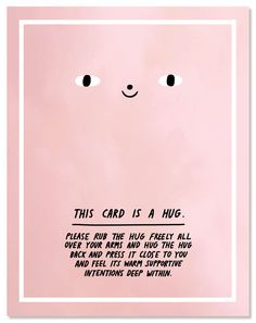 This Card is a Hug