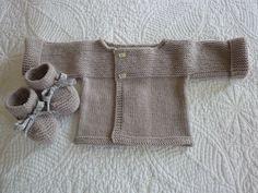 """Brassière """"1"""" Liam - Photo de LA LAYETTE DES DEBUTANTES. - L'atelier tricot de Mam' Yveline."""