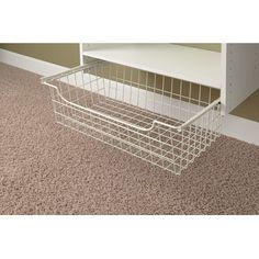 For Wallets Easy Track 1308 White Easy Track Wire Basket