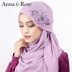 Siapa yang belum dapatkan #sofea romantic lilac hot selling ni, ada lagi 20 warna yang cantik, simple dan stylish!  . Stock dan warna limited yaa! Cepat dapatkan di HB Bangi, HB Ipoh (31.01.16/Ahad) dan online www.thetailoringfactory.com Hijab Fashion Inspiration, Style Inspiration, Neck Scarves, Head Scarfs, Anna Rose, Beautiful Hijab, Pashmina Scarf, Niqab, Hand Stitching