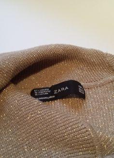 Kup mój przedmiot na #vintedpl http://www.vinted.pl/damska-odziez/swetry-z-golfem/11387657-zloty-obcisly-seksowny-sweterek-zara-blyszczace-drobinki