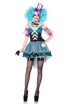Leuk Mad Hatter kostuum uit Alice in Wonderland. #carnavalskleding