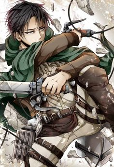 Omg I love Levi so much <3 - Anime, Shingeki no Kyojin, Attack on Titan - Levi is a badasss