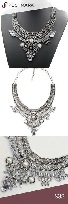 Luxury Bib Choker Necklace Simply beautiful. Jewelry Necklaces