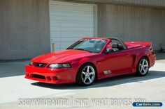 2002 Ford Mustang GT Convertible 2-Door #ford #mustang #forsale #unitedstates