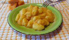 Gnocchi di patate light in crema di zucca