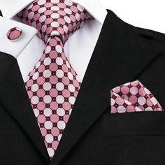Material: SilkModel Number: Indian Red RosySize: in length and in Width Mens Gold Tie, Mens Silk Ties, Novelty Ties, Cufflink Set, Knit Tie, Tie Set, Tie And Pocket Square, Skinny Ties, Ties