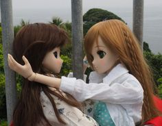 Smart Doll Chitose Shirasawa and Mirai Suenaga by nekobasu18