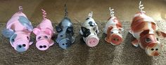 Clay pot terra cotta pigs made by Family Time Crafts (Facebook)