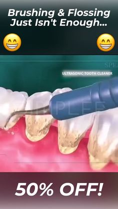 Feel confident with pearly white smile, healthy teeth and gum. The OralSonic™ Teeth Cleaner makes it easy to get rid of plaque, stains, tartar buildup and get whiter teeth.😍 🦷 Easy Home Solution 🦷 Portable & Waterproof Teeth Health, Healthy Teeth, Oral Health, Healthy Fudge, Dental Health, Healthy Recipes, Health And Beauty Tips, Health Tips, Healthy Beauty