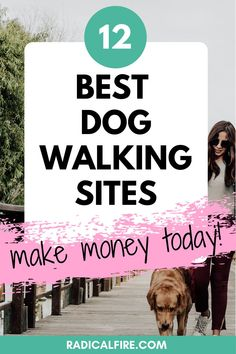 Do you want to make extra money while spending time with dogs? Here are the best apps and websites to find dog walking jobs to earn extra cash! #extracash #makemoney #extraincome Earn Extra Cash, Extra Money, Dog Walking Jobs, Dividend Investing, Creating Wealth, Finance Organization, Financial Peace, Jobs Apps, Managing Your Money