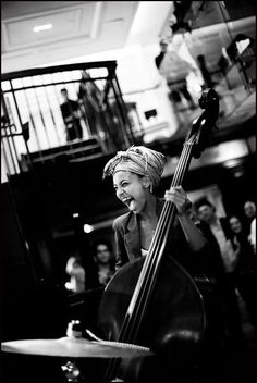 """Jazz has always been a melting pot of influences and I plan to incorporate them all."" - Esperanza Spalding"