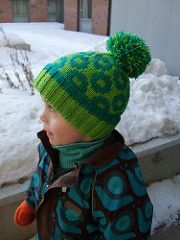 Pattern #4 in their Arne & Carlos hat collection