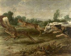 Frans Snyders, Caza de ciervos, XVII