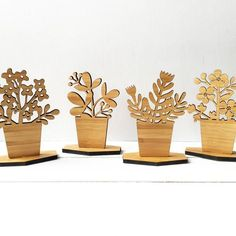 """This small, wooden """"houseplant"""" is perfect for your desk, ...  #houseplant #perfect #small #wooden"""