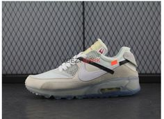 fdcaf5d23ad5b OFF-WHITE x Nike Air Max 90 Ice AA7293 100 SIZE EUR40-45