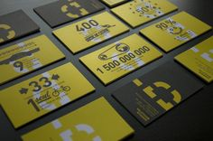 Dumoulin Bicyclettes business cards #branding #identity #design