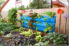 vertical gardening...hmmm
