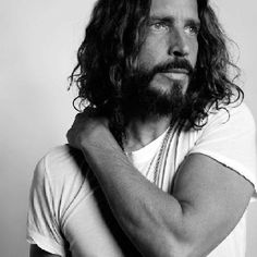 Happy birthday Chris Cornell!❤ (Sorry followers, I went to find a picture to pin for his birthday and it was too hard to choose just one.) Or should I say, you're welcome.