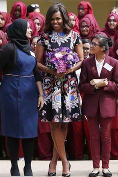 Michelle Obama's style file | Fashion, Trends, Beauty Tips & Celebrity Style Magazine | ELLE UK