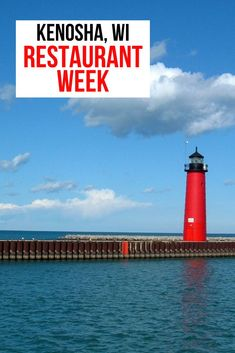 It's always a great time to save money on eating delicious meals, right? Be sure to check out Kenosha Restaurant week Feb 2-10 for terrific deals on all the spots you've been waiting to check out. Now's the time to start planning your get away to Kenosha, Wisconsin. #VisitKenosha #KenoshaRestaurantWeek #RestaurantWeek