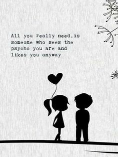 Love is all we need..