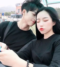 Imagem de ulzzang, asian, and couple