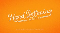 Do you love hand lettering? Have you ever wanted to add some motion to your designs? This class is for anyone who wantsto learn the basics of animation, but never had the opportunity! I'll show you step by step my process of how to break down hand lettering for animating in After Effects, and learn the fundamentals of motion design. You'll be able to follow along even if you've never opened the program before. By...
