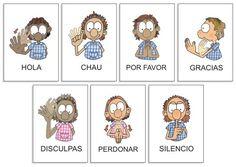CoSqUiLLiTaS eN La PaNzA BLoGs: MATERIAL DE LENGUA DE SEÑAS (LSA ARGENTINA) Spanish Teacher, Spanish Classroom, Teaching Spanish, Teaching English, Asl Signs, Hispanic Culture, Spanish Lessons, Nice To Meet, Sign Language