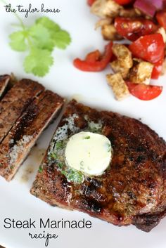 Delicious and easy to make Beef Steak Marinade Recipe for this grilling season!